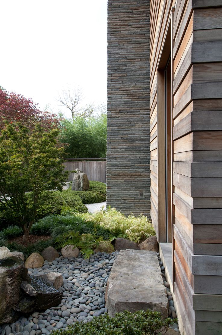 Chic modern garden design in chelsea by declan buckley with steps and - Marc Peter Keane A Specialist In Japanese Gardens Designer Visit A Garden Inspired By Japan In Westchester County New York Gardenista