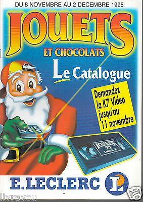 ▬► Catalogue Jouets Leclerc 1995 Poupées__Batman_Action Man_Powers Rangers_Ninja
