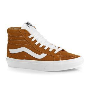 Vans Skate Shoes - Vans Sk8-Hi Reissue Retro Sport Shoes - Glazed Ginger
