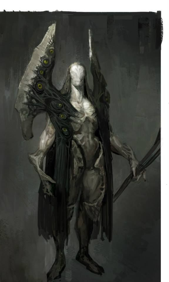 (Artist Unknown) ~Seraetas~ The seraetasi, or angels of time, are millennia old beings that protect the natural flow of time, and in turn prevent absolute calamities from rupturing space and distorting time. Seraetasi are rare, and are found wherever they happen to hibernate while waiting for the next major calamity.