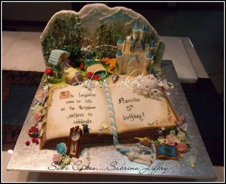 Disney Cake Decorating Book : 86 best images about Book cakes on Pinterest Open book ...