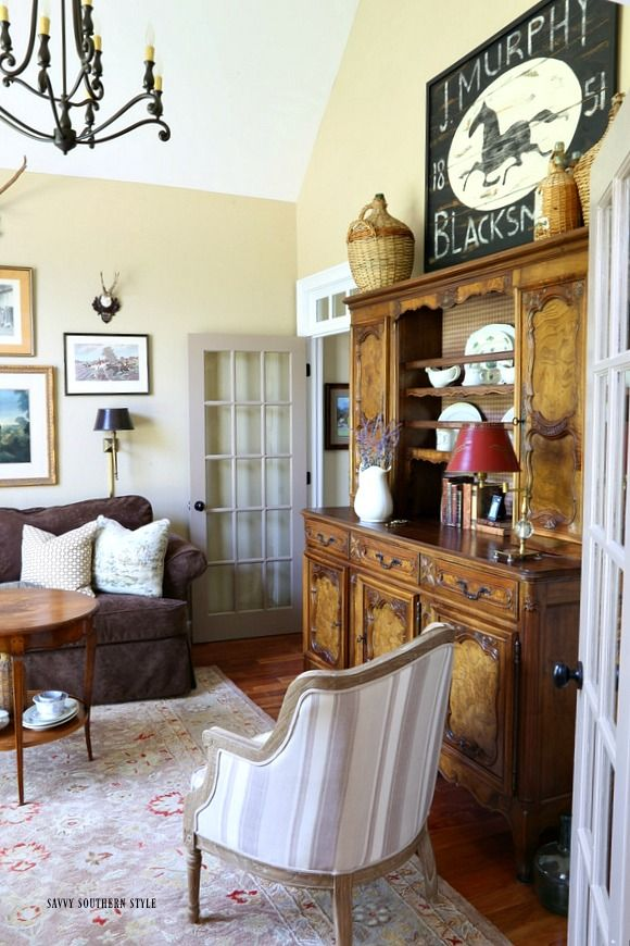 Savvy southern style it 39 s the details that make a room Savvy home and garden