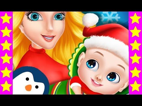 Малыши Санта Клауса! Беременная жена Санты рожает близнецов. Новогодние ...