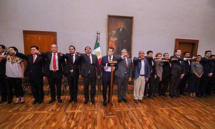 Nombramientos del Gabinete Legal del Gobierno del Estado de Oaxaca