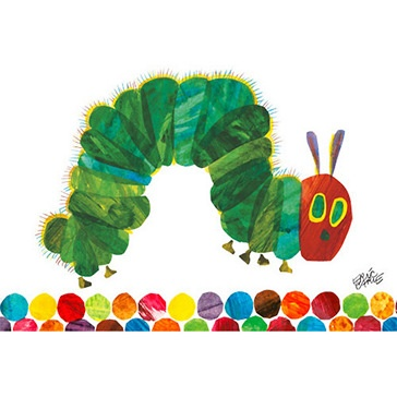 Eric Carle's Very Hungry Caterpillar - Wall Art by Oopsy Daisy.