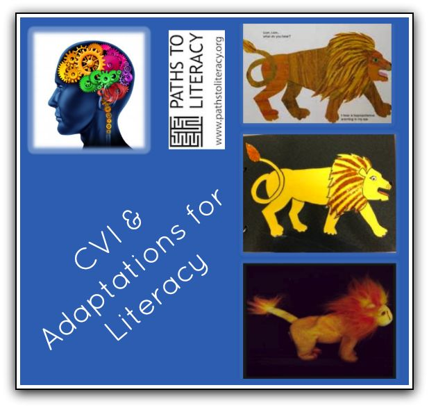Practical ideas for adapting books for children with Cortical Visual Impairment (#CVI)