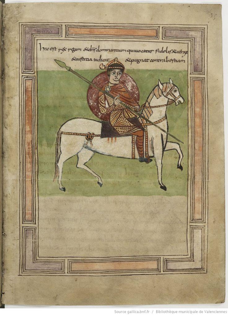 Bibliothèque municipale de Valenciennes, Ms.99 (92), Apocalypse figurée, fol.35r