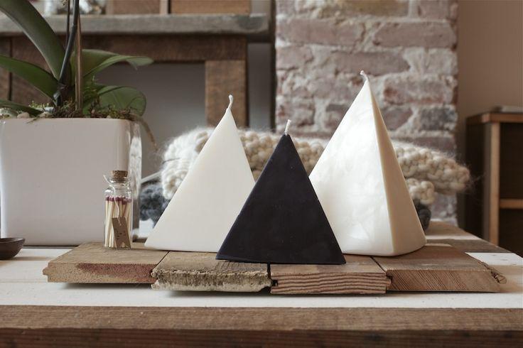 "Wasted Effort ""Hidden Treasure"" Pyramid Candle #handcrafted #candle #treasure #pyramid"