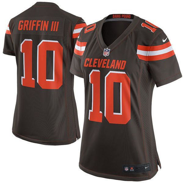 Robert Griffin III Cleveland Browns Nike Women's Game Jersey - Brown - $54.99