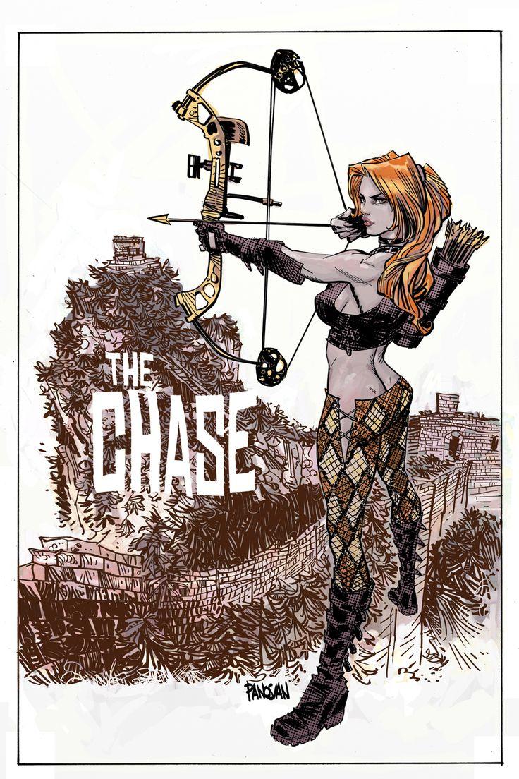 Danger Girl: The Chase #2 by urban-barbarian.deviantart.com on @deviantART