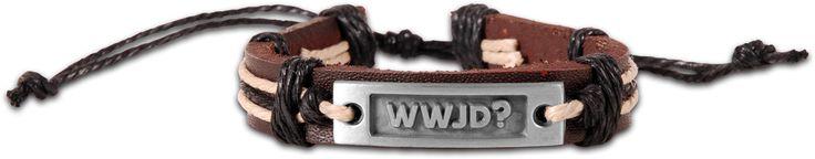 Guy's Bracelet - WWJD
