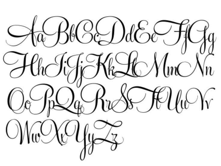best 25 tattoo fonts cursive ideas on pinterest cursive. Black Bedroom Furniture Sets. Home Design Ideas