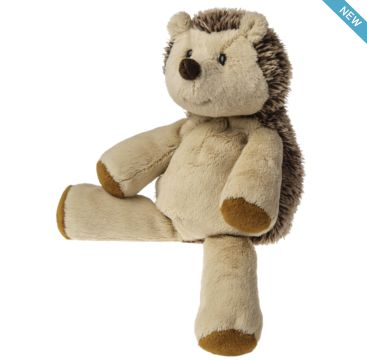 Marshmallow Hedgehog from Mary Meyer.  Available now at Bobangles.  #MaryMeyer #plush #toy #kids #cute #Australia #hedgehog