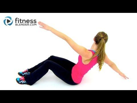 HIIT Cardio and Abs Workout - 30 Minute At Home HIIT Workout with Abs Exercises