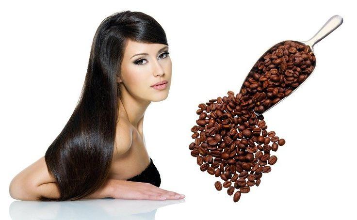 Крепкие и яркие волосы с натуральными кофейными масками