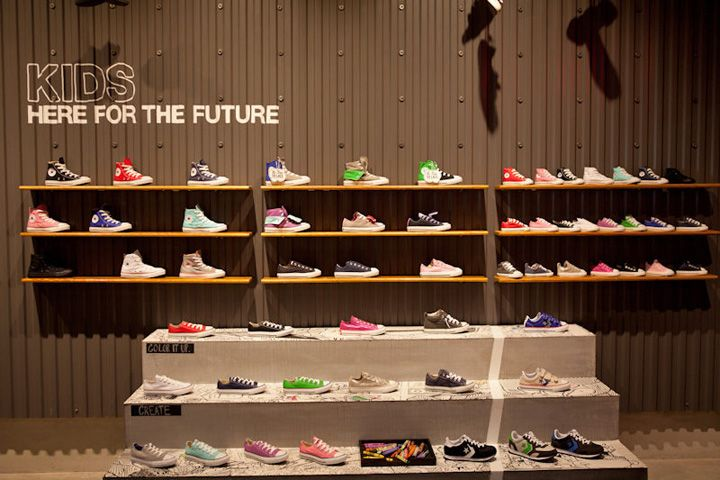17 Best Ideas About Converse Store On Pinterest Retail Retail Design And Store Design