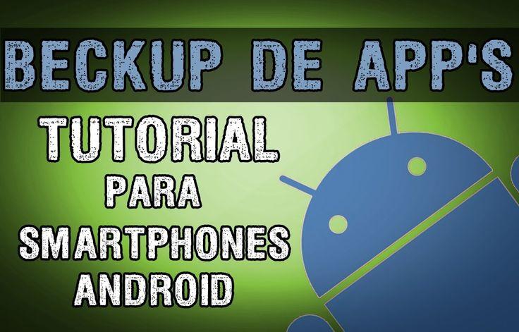 TUTORIAL - Como fazer BACKUP / RESTAURAR dos seus aplicativos ANDROID