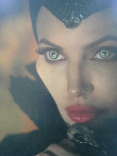 Maleficent.  Evil can appear beautiful. Beware.