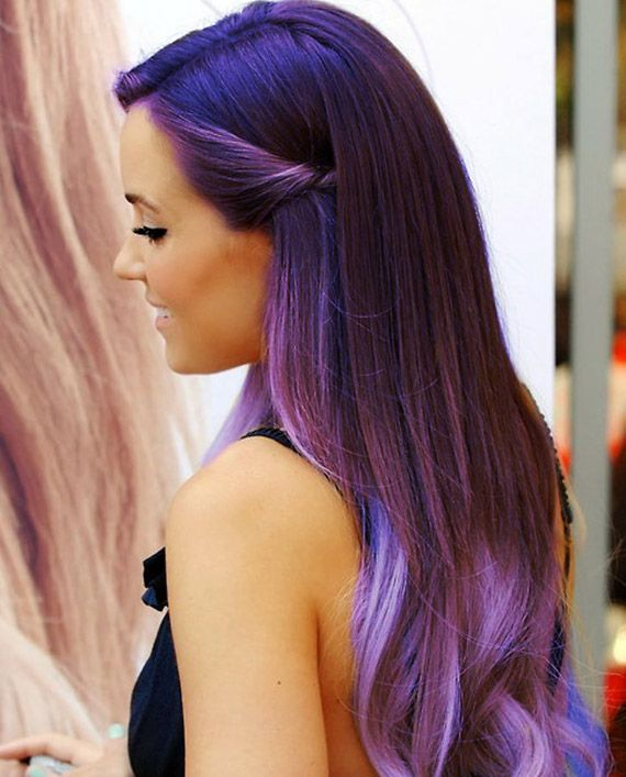Love this purple ombre