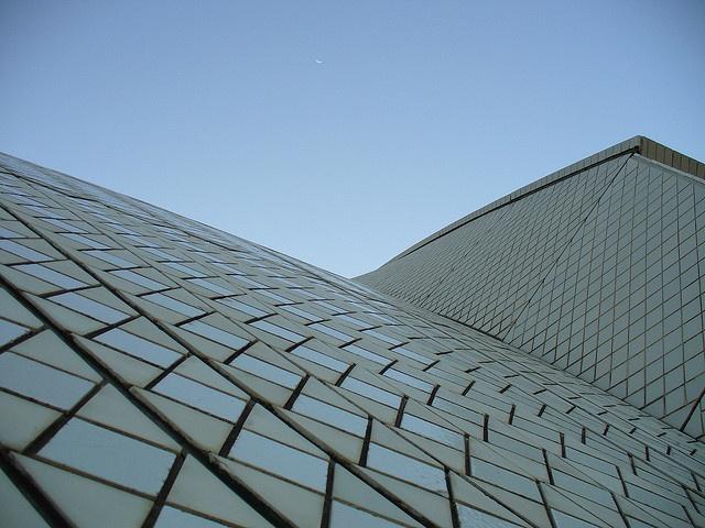 Sydney Opera House, the top by billadler, via Flickr
