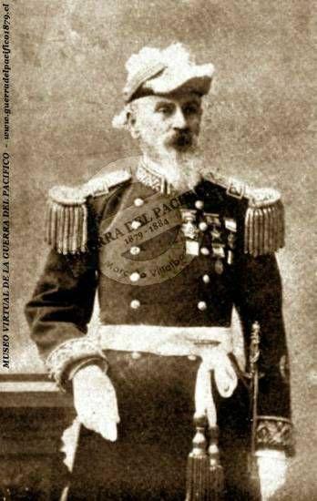 Coronel Santiago Amengual Balbontín (1815-1898)  Líder fundador del glorioso Regimiento 7º de Línea Esmeralda y héroe de Tacna. Sus destacadas y valientes acciones no evitaron que muriera sólo y pobre, a consecuencia de la infausta Guerra Civil de 1891.