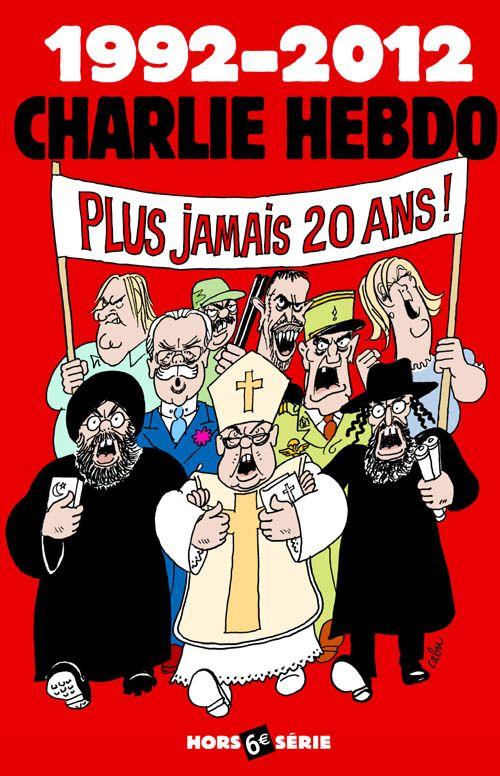 Charlie Hebdo - Hors Série # 32 - # 6 - Plus Jamais 20 Ans - Juillet 2012 - Couverture : Cabu