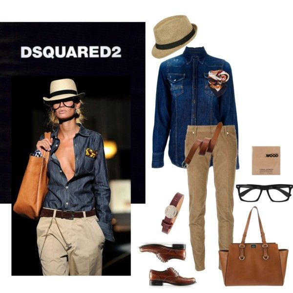 """""""# All DsQuared #"""" by xenia-makridou on Polyvore"""