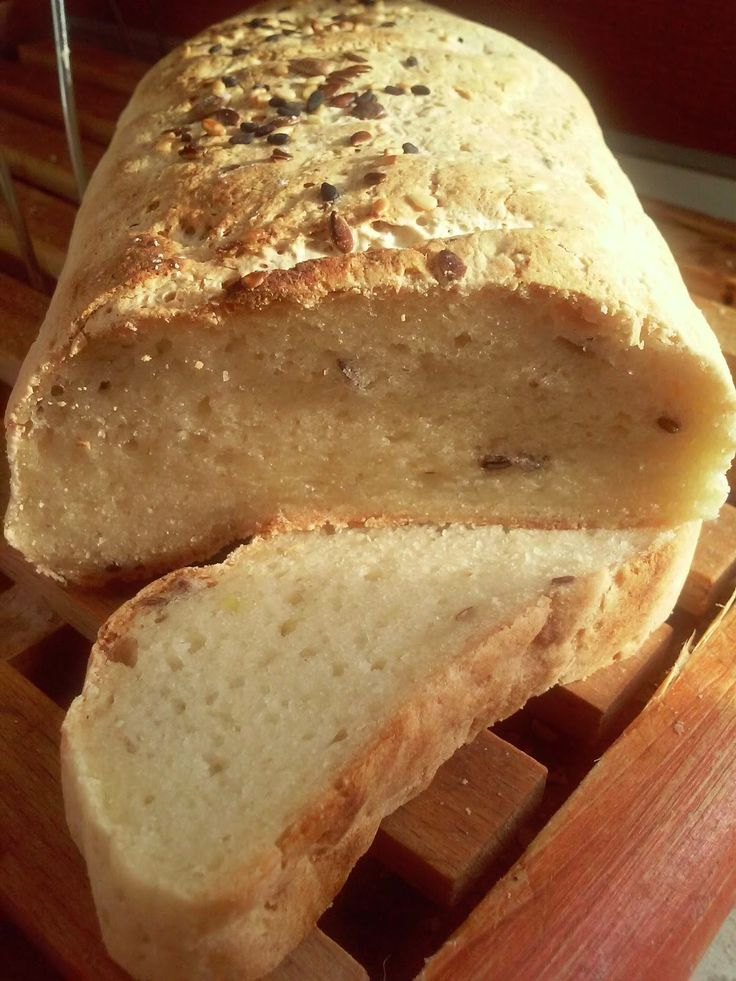 Gluténmentes burgonyás kenyér