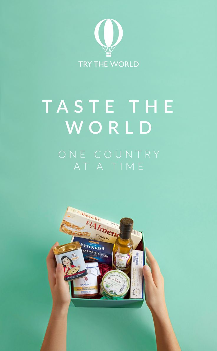 If you're the type of person who is passionate about food and adventure, boy do we have the box for you. Lovingly curated by experts chefs, each box contains recipes, cultural norms, regional music, movie suggestions, and so much more. Try The World today! Subscribe today and receive a free Spain Box free trial. Hurry, offer valid until 12/31/15.
