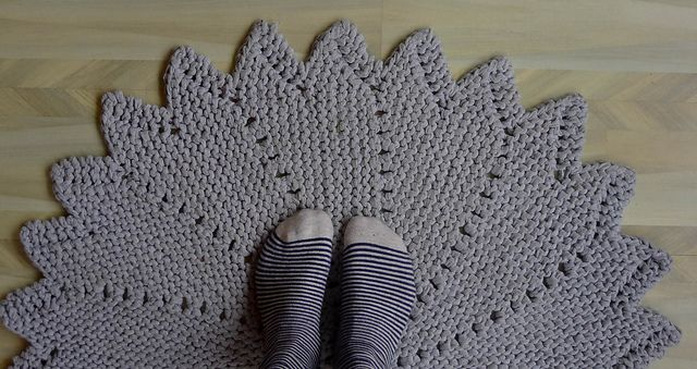 Free Knitted Placemat Patterns : Ravelry: Krakspark rug pattern by knitting krakspark-free rug pattern Knit ...