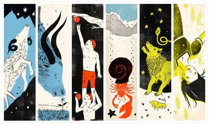 1st half of the zodiac -- Aries, Taurus, Gemini, Cancer, Leo & Virgo