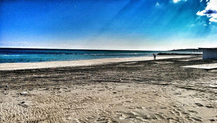 Alimini sea, a beautiful beach