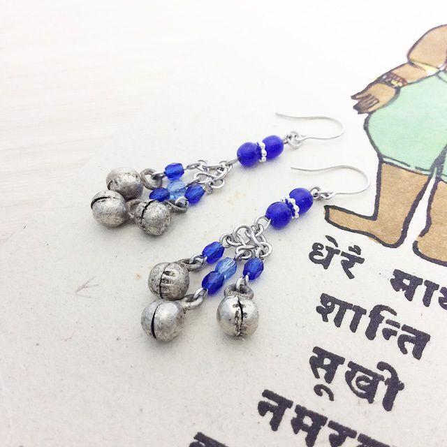 インドの鈴の音ピアス