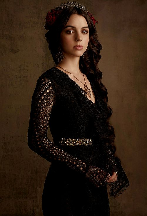 New promotional photoshoot of Adelaide Kane as Mary Stuart in Reign.                                                                                                                                                                                 More