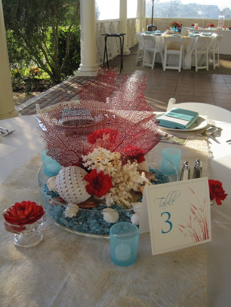 Best under the sea wedding decor images on pinterest
