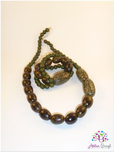 Bio-jewellery Set - Necklace & Bracelet