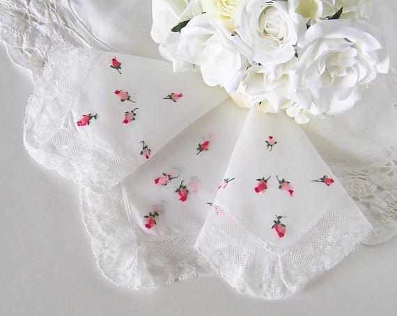 Bride's Handkerchief Mother of the Bride Hanky Vintage
