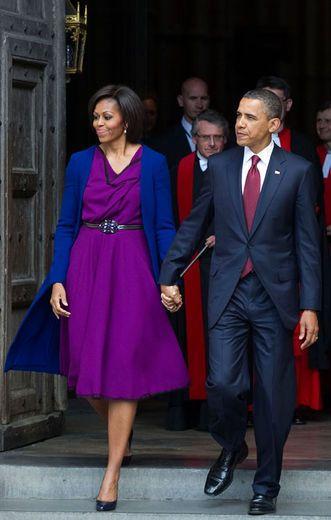 Stunning!: President Barack, Roksanda Ilincic, Color, Dress, Michelle Obama, Barack Obama