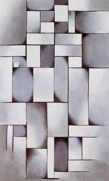 Composition in Grey, 1919. THEO VAN DOESBURG. #NeoPlasticism. Theo van Doesburg…