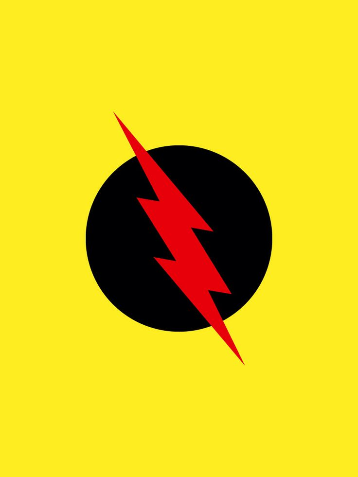 The Reverse Flash Logo HD Wallpaper