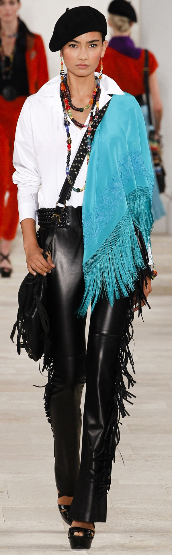 ✜ Ralph Lauren SS 2013 ✜ http://www.vogue.com/collections/spring-2013-rtw/ralph-lauren/review/# MORE on Runway & on Dresses
