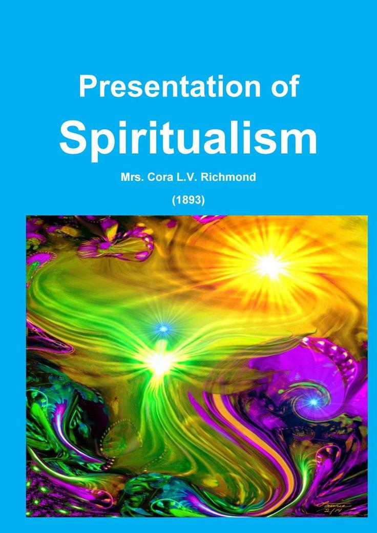 Presentation of Spiritualism — Cora Richmond (1893)