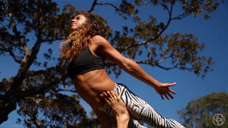 AcroYoga 'Cello Flow' with Honza & Claudine Lafond, YogaBeyond