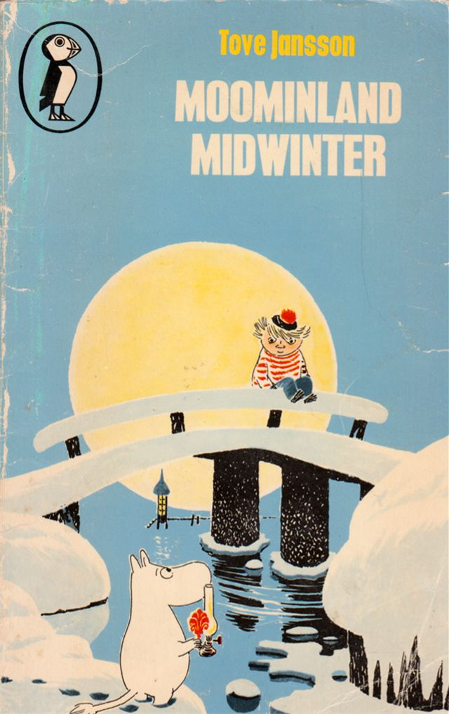 my vintage book collection (in blog form).: Moominland Midwinter - illustrated by Tove Jansson
