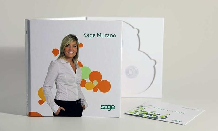 Caja para software. Sage - grupdigital.com impresion digital