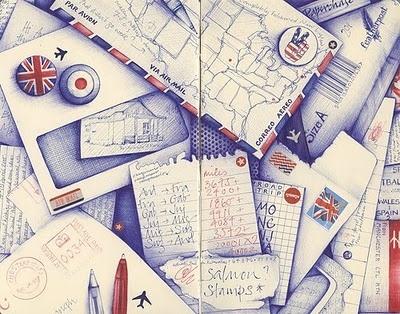 Andrea Joseph´s sketchblog  http://andreajoseph24.blogspot.com/  I love her work!