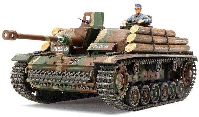 During the Soviet-Finland War during WWII, the Finnish Army were provided with Sturmeschutz III Ausf.G tanks from Germany which later became their main tank until the end of the war. Equipped to the low profile hull of the Ausf.G was a powerful, long-barrelled 7.5cm anti-tank gun.