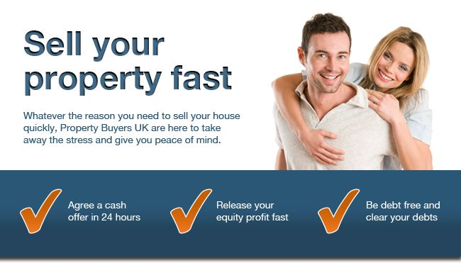 Sell your house immediately for cash. Whatever the reason you need to sell your house quickly. Property Buyers UK are here to take away the stress and give you peace of mind.