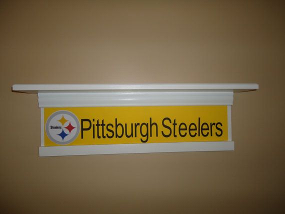 Pittsburgh Steelers shelf Pittsburgh Steelers decor