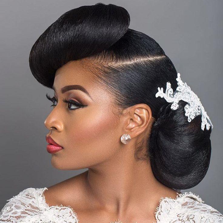 African American Wedding Hairstyles 26 Best Wedding Hairstyles Images On Pinterest  African Hairstyles